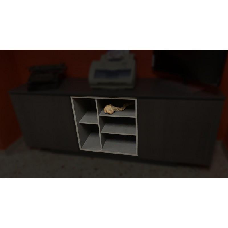 Bookcase per mobili Delta Evo