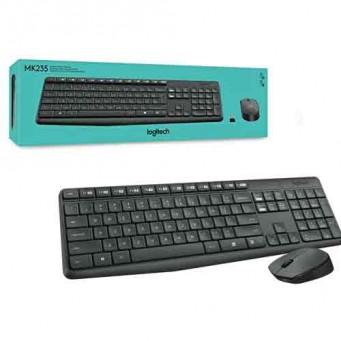 Tastiera e mouse Logitech MK235